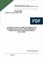 066.Informe Nacional Desarrollo Metodologias Monitoreo Mortalidad Mamiferos-peru-1997