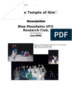 The Temple of Nim Newsletter - June 2005