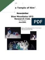 The Temple of Nim Newsletter - June 2005