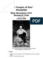 The Temple of Nim Newsletter - January 2005