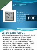 Cos Phi Meter
