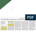Tre fondi italiani conquistano le 5 stelle di FundClass (La Stampa, 29/10/12)