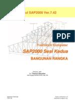 Modul II Bangunan Rangka SAP2000