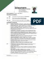 Mattia Schaumann CV