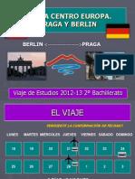 Viaje de estudios 2º Bachillerato 2012-13