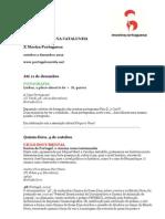 2012 Mostra Portuguesa Em BCN - Programa Definitivo - PT