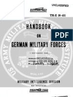 TM E 30-451 Handbook on German Military Forces (1 Sep 1943)