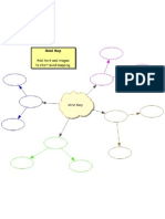 Mind Map Template 1