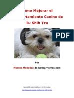 Como Mejorar El Comportamiento Canino de Tu Shih Tzu