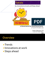 Evaluation of Sakala - Trends, Innovations at Work and Steps Ahead
