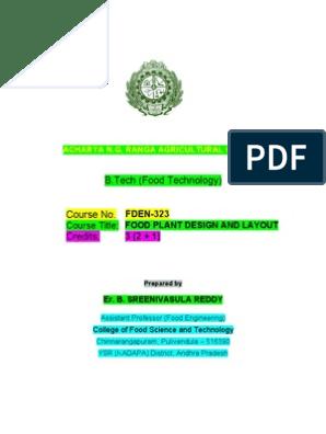 f Den 323 Food Plant Design   Feasibility Study   Risk