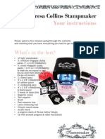 Teresa Collins Stampmaker Instructions