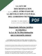QUÉ HAY DETRÁS DE LA IDEOLOGÍA DE LA NO DISCRIMINACIÓN1