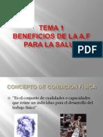POWER POINT TEORIA  CONDICIÓN FÍSICA 4º ESO
