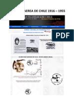Filatelia Aerea de Chile 1916 - 1955