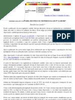 Depreciação Contábil Segundo os Critérios da Lei 11.638/2007