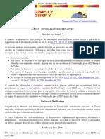 DACON - Informações RELEVANTES