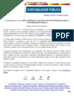 NOVA CONTABILIDADE PÚBLICA Sera ESPELHADA NO SISTEMA CFC_CRC