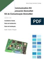 WEG Ssw 06 Devicenet Communication Kit 0899.5836