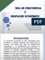 Control de Frecuencia y Despacho Economico