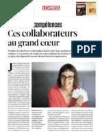 Orange Solidarité Numérique - Stéphanie Lazaroo, Jean-Pierre Mondesir- L'Express