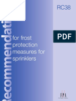RC38 - Frost Protection Measures for Sprinklers