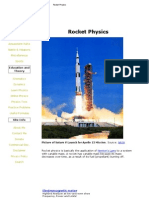 Rocket Physcs-Engineering
