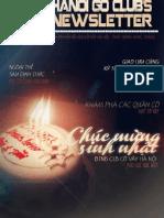 Bản tin clb Cờ Vây Hà Nội số 12 - tháng 10/2012