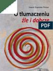 o Tlumaczeniu Zle i Dobrze - Urszula Dambska-Prokop PROBKA