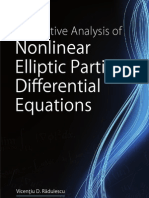 Analysis of Nonlinear Elliptic Partial Differential Equations (Contemporary Mathematics and Its Applications Book Series)-Hindawi Publishing Corporation(2008)