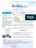 Newsletter 1er Trimestre 2009