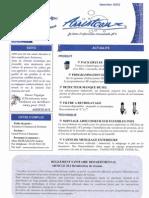 Newsletter Janvier 2010
