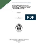 Analysis of Thiobarbituric Acid ValueAnalysis of Thiobarbituric Acid Value