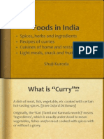 Foods in India
