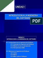 I. Introducción a la Ing.Software.
