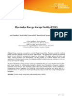 Flywheel as Energy Storage Facility