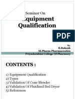 IQ, OQ, PQ for FBD