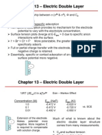 Chapter 13 – Electric Double Layer