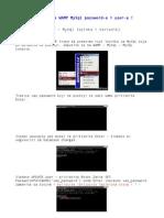 Podesavanje WAMP MySql Password -A i Usera -A