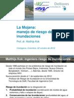 La Mojana FloodRisk PresentationCartagena22octubre2012ESP