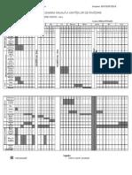 Clasa Pregatitoare - EFS - Esalonarea Anuala a UI M