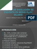 CINÉTICA DE DISOLUCIÓN DE ENARGITA EN MEDIO Cl2_1.pptx