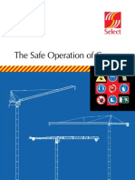 The Safe Operation of Cranes