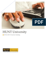 HUNTU_CourseCatalog2013