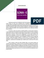 Proyecto Súmate 2013 Modificado.