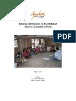 AC Peru Informe Del Estudio 3-7-11 Spa