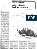 Cuando en Soria Habia Rinocerontes
