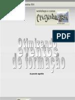 Otimizando eventos de  formacao Paula Ugalde