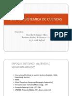 GESTION SISTEMICA DE CUENCAS IAS Ricardio Rodríguez