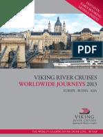 Viking River Cruises Worldwide Journeys 2013
